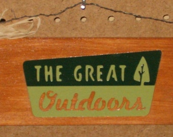 The Great Outdoors sign