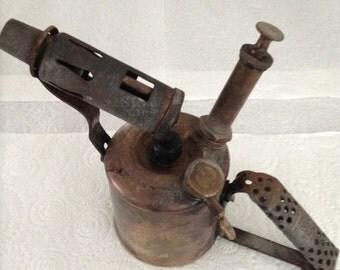 Vintage  Blowlamp Blow Torch  retro.