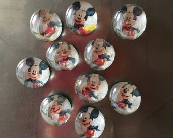 Mini Mickey Mouse Magnets