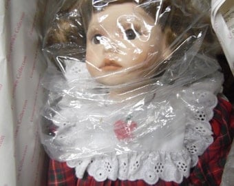 Georgetown Collections  Apple Dumpling porcelain doll