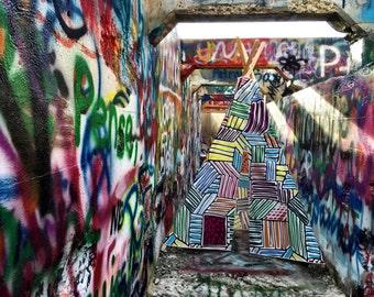 Graffiti Kids Play Teepee