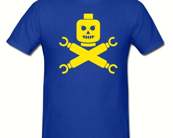 Lego Pirates t shirt, boys t shirt sizes 5-15 years,childrens gamer t shirt
