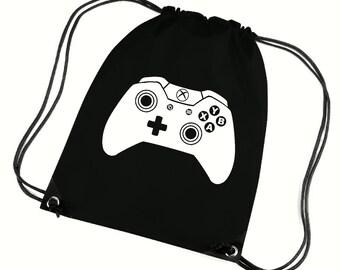 Games controller gym bag,pe bag,school bag,water resistant drawstring bag.