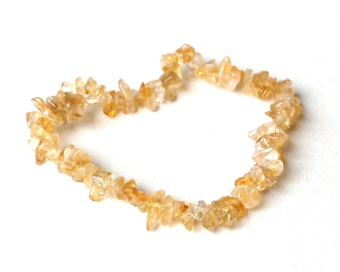 Citrine Crystal Chip Bracelet Natural Gift By Krystalgiftsuk. Gold Diamond Bangle. Loop Necklace. 12 Carat Diamond. Cuff Bangle. Green Colored Gemstone. Zodiac Watches. Cause Bracelet. Necklace Design Beads