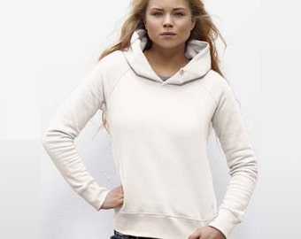 Design and customization of your Organic Hoodie - Women XS to XL