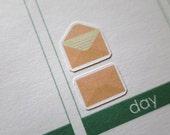 60 Mail Stickers  | Erin Condren Stickers | Plum Paper Planner Stickers | Scrapbook | Erin Condren Life Planner | Filofax | Life Planner