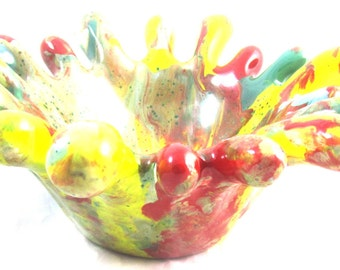 Spider Candy Dish by bigd0gg Art (Fall 2014 Collection)