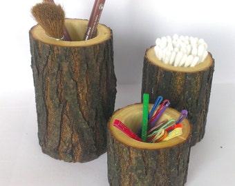 Rustic Bathroom Decor Rustic Bathroom Accessories Set Of 3 Holder Toothbrush Holder