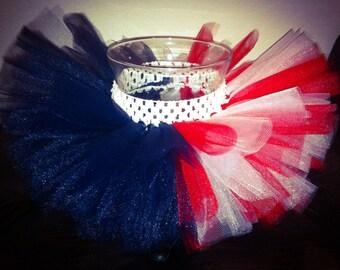 4th of July tutu, Fourth of July tutu, red white blue tutu, baby tutu, toddler tutu, patriotic tutu, Memorial Day tutu