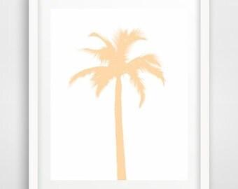 Palm Tree, Printable Art, Palm Tree Print, Instant download, Palm Tree Art, Modern Wall Art, Wall decor