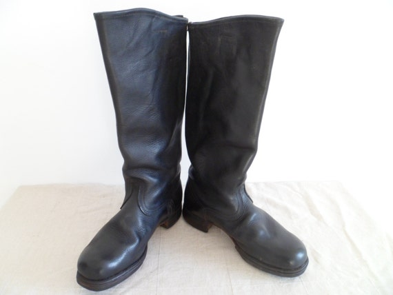 Soviet Officer Boots Soviet Officer Leather Boots