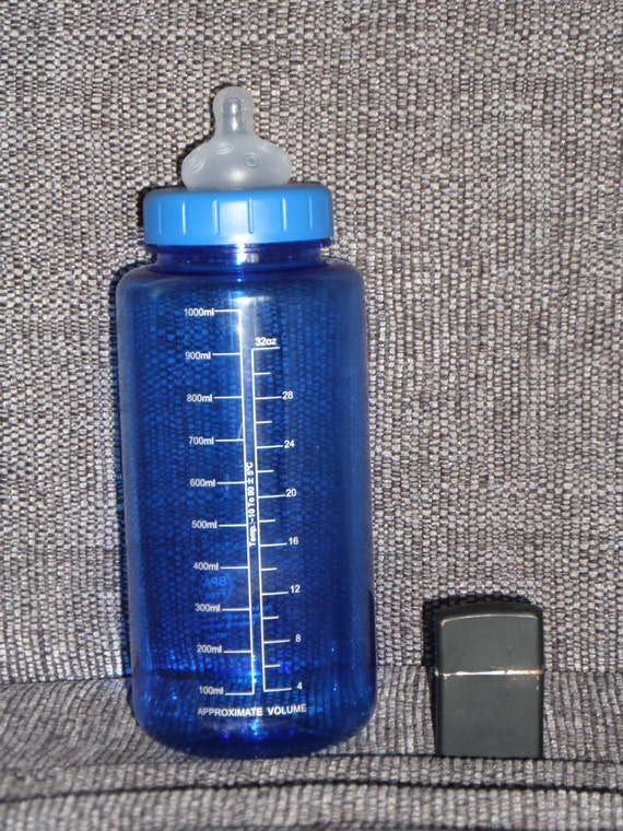 Sale Adult Baby Bottle 1000ml 33oz With Scale Bar By