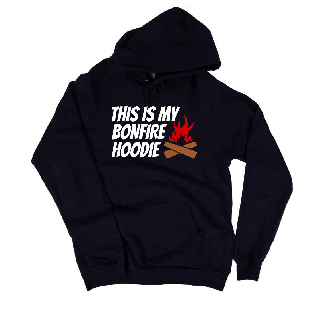 Camping Sweatshirt - This Is My Bonfire Hoodie - Camping Hoodie