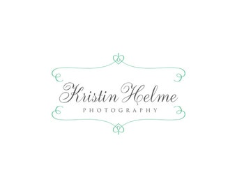 Photography logo  - Watermark logo design - Premade Logo template - digital download psd file