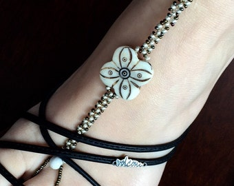 Sandal bare foot, foot jewelry, footless sandals, foot jewelery, barefoot sandals.