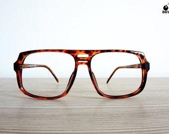 vintage LEOPTICS eyeglasses optical frame tortoise