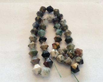 Ocean Jasper lantern beads