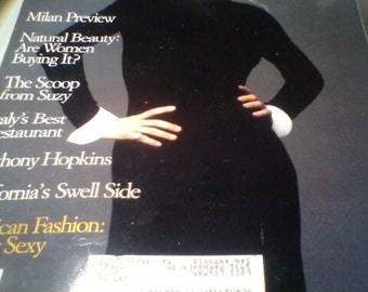 W, The New W, October 1993 magazine