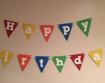 Colorful Birthday Banner