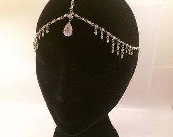 Stunning bohemian bridal head piece