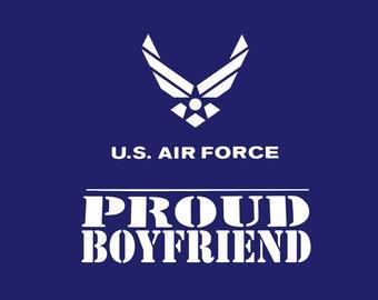 Proud Air Force Boyfriend