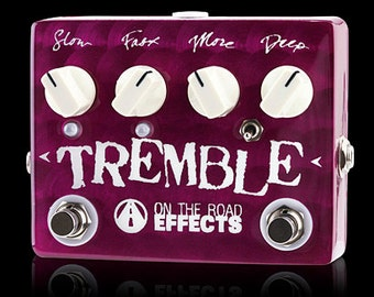 Dual-Speed Tremolo / Linear Boost Pedal