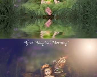 Magical Morning ~ Enchanted Fairytale Action for Photoshop