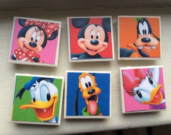 Character Kitchen Magnet Set of 6