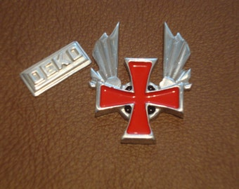 Templar themed pin