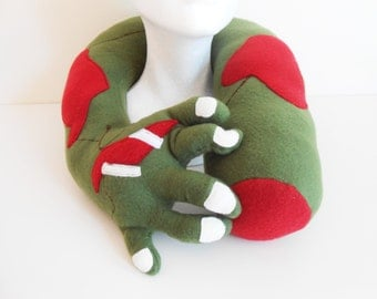 Zombie Arm Neck and Travel Pillow, Horror Pillow, Zombie Decor
