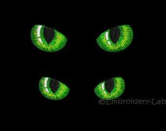 Dark eyes 0001 - machine embroidery designs / Set