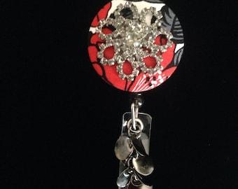 Vintage Broach-Nurse Retractable ID Badge Reel/ RN Badge Holder/Doctor Badge Reel/Nurse Badge Holder/Nursing Student Gifts