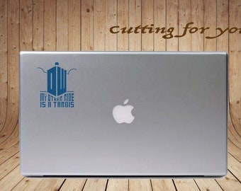 My Other Ride is a Tardis- Dr. Who Decal