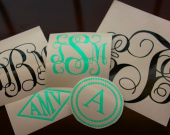 Monogram Decals-
