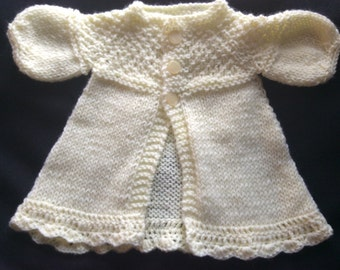 Knitted Baby Girl Sweater
