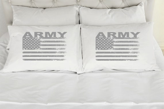 Wedding Gifts For Army Couples : Army Military Couples Printed Pillowcases Set of 2 American