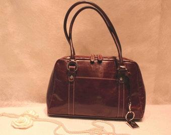 Vintage leather bags. Giani Bernini. GENUINE LEATHER.