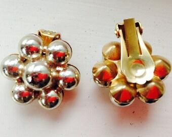 Vintage, clip on earrings, gift