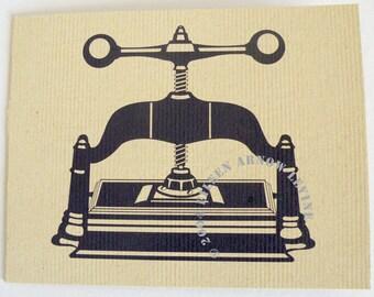 Book Press, Blank Notecard