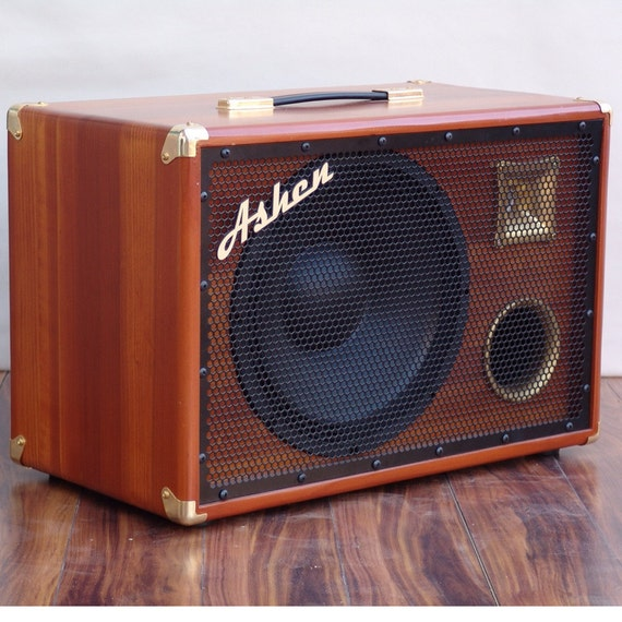 items similar to ashen amps woody 1x12 bass cab with tweeter on etsy. Black Bedroom Furniture Sets. Home Design Ideas