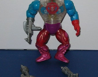 Vintage 1980s Masters of the Universe Complete Roboto figure
