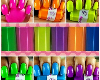 SNC Neon Collection Indie Polish. Single bottles