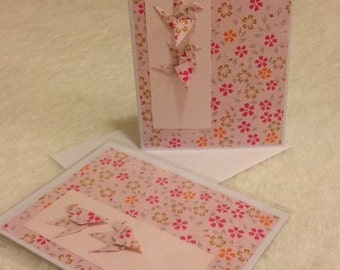 All occasion blank card (1504 Rose Beauty)