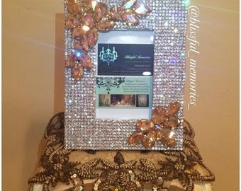 Custom Crystal frame with color of your choice