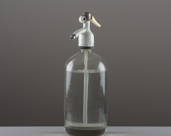 Vintage Seltzer bottle.
