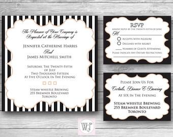 Ava Wedding Invitation Set - Digital Download
