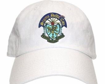 Sigma Delta Tau Crest Hat