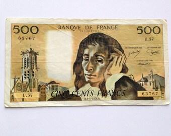 Ticket 500 francs