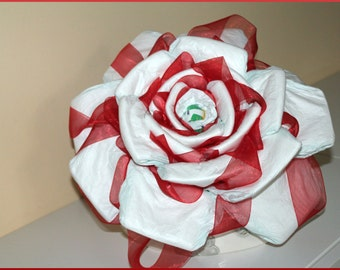 Rose of custom gift idea birth diapers.