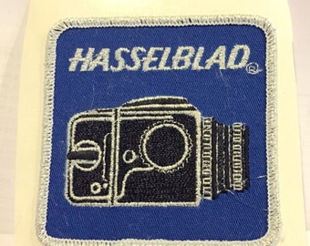 Vintage Hasselblad Cloth Patch, c1970's, Never Used